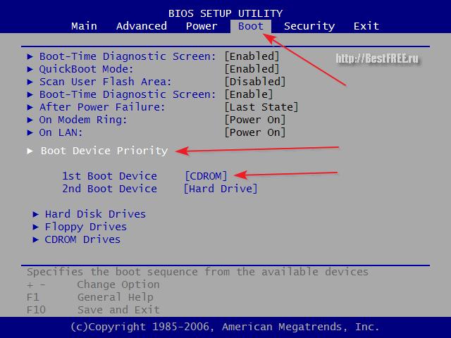 Как сделать загрузочный hdd windows